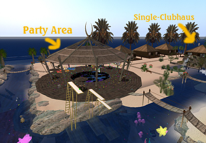 VIP Beach Resort in Second Life